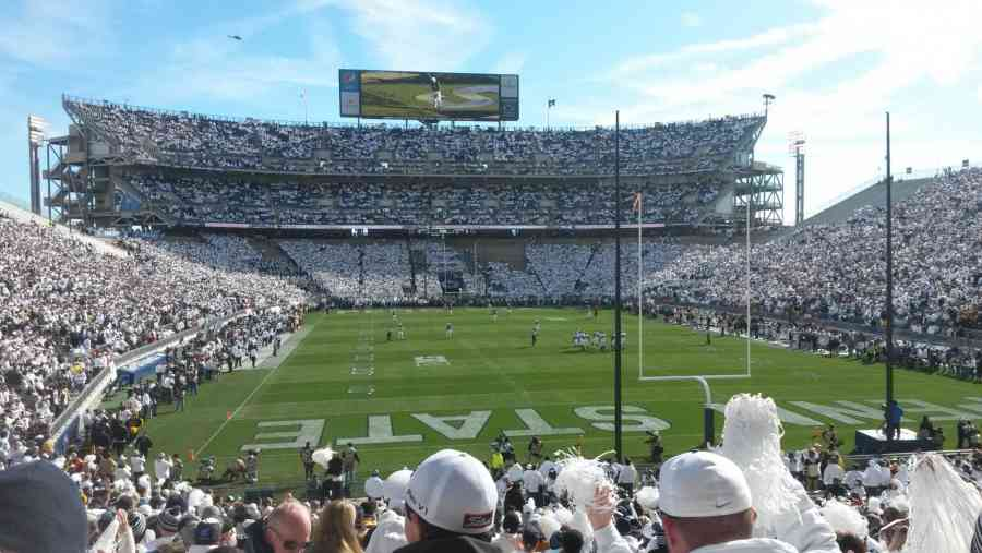 White Out at Beaver Stadium