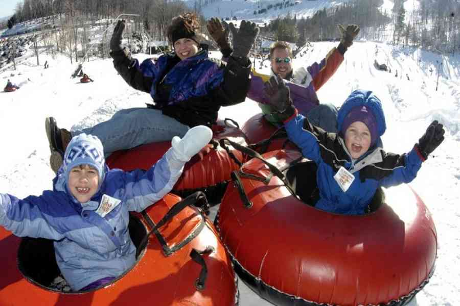 Tubing on Tussey Mountain