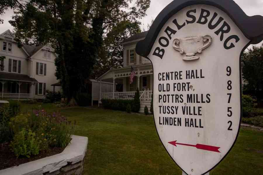 Boalsburg Sign